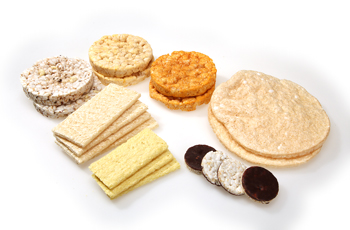 Wheat free crackers