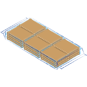 Rectangular biscuits packaging C7